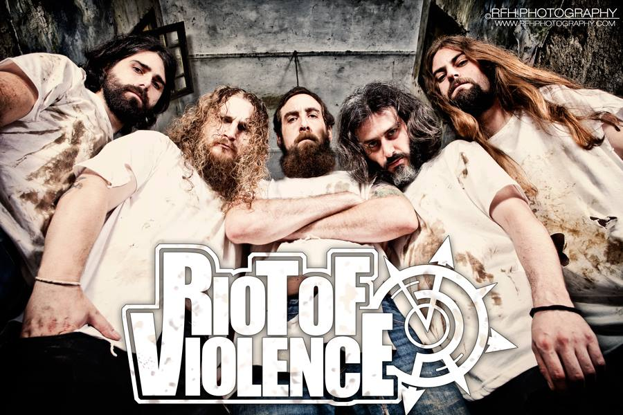 Riot Of Violence, nuevo fichaje Blood Fire Death y disco gratis en Bandcamp