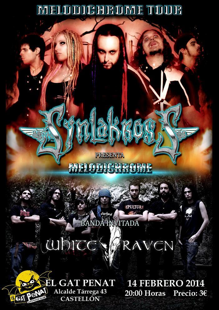 Synlakross escoge Castellón como segunda fecha de presentación de su nuevo álbum