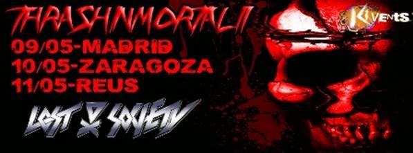 Nueva edición del Thrash Inmortal II