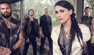 Integrantes de la banda holandesa Within Temptation