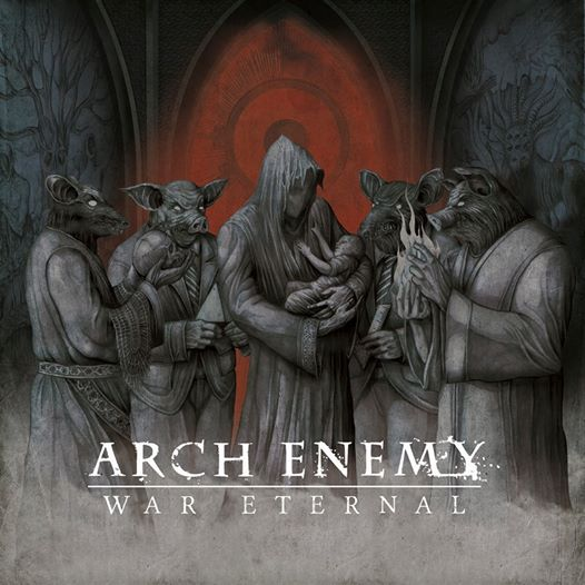 "Arch Enemy Desvela Portada Del ""War Eternal"""