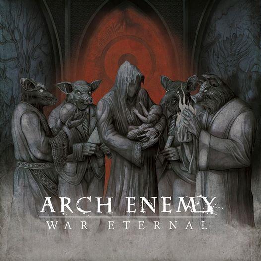 "Arch Enemy Desvela Portada Del ""War Eternal"""
