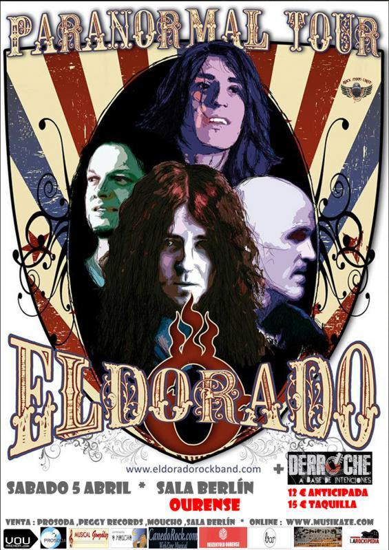 ELDORADO vuelve a Ourense el 5 de Abril