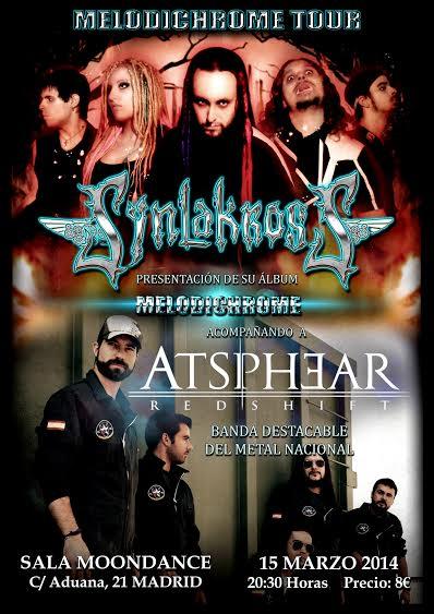 Melodichrome Tour: Synlakross + Atsphear