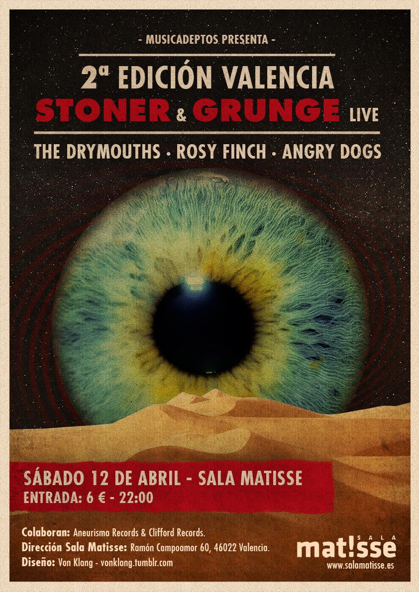 Segunda edición del Valencia Stoner & Grunge Live