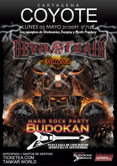 Devil's Train cambian la ubicación de su concierto en Cartagena