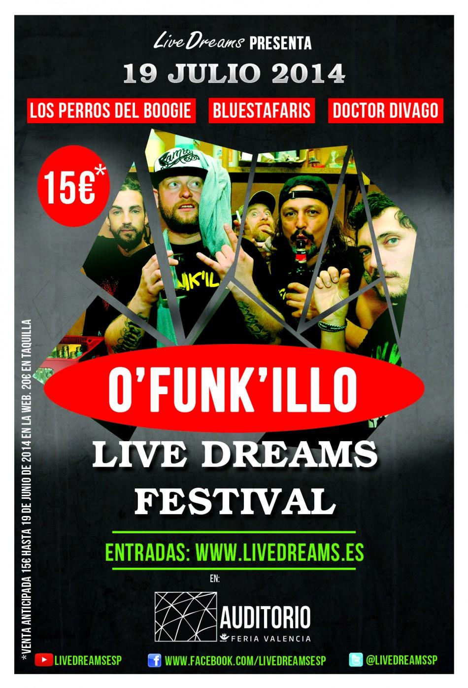 Nace Live Dreams Festival una nueva forma de organizar conciertos
