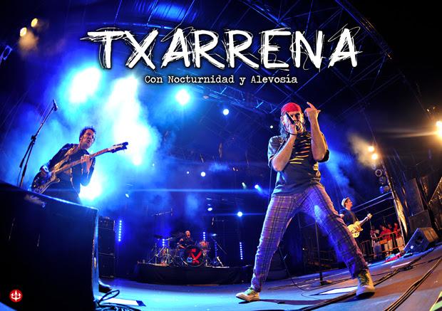 """TXARRENA: Reedición de """"Con nocturnidad y alevosía"""" en formato DVD"""