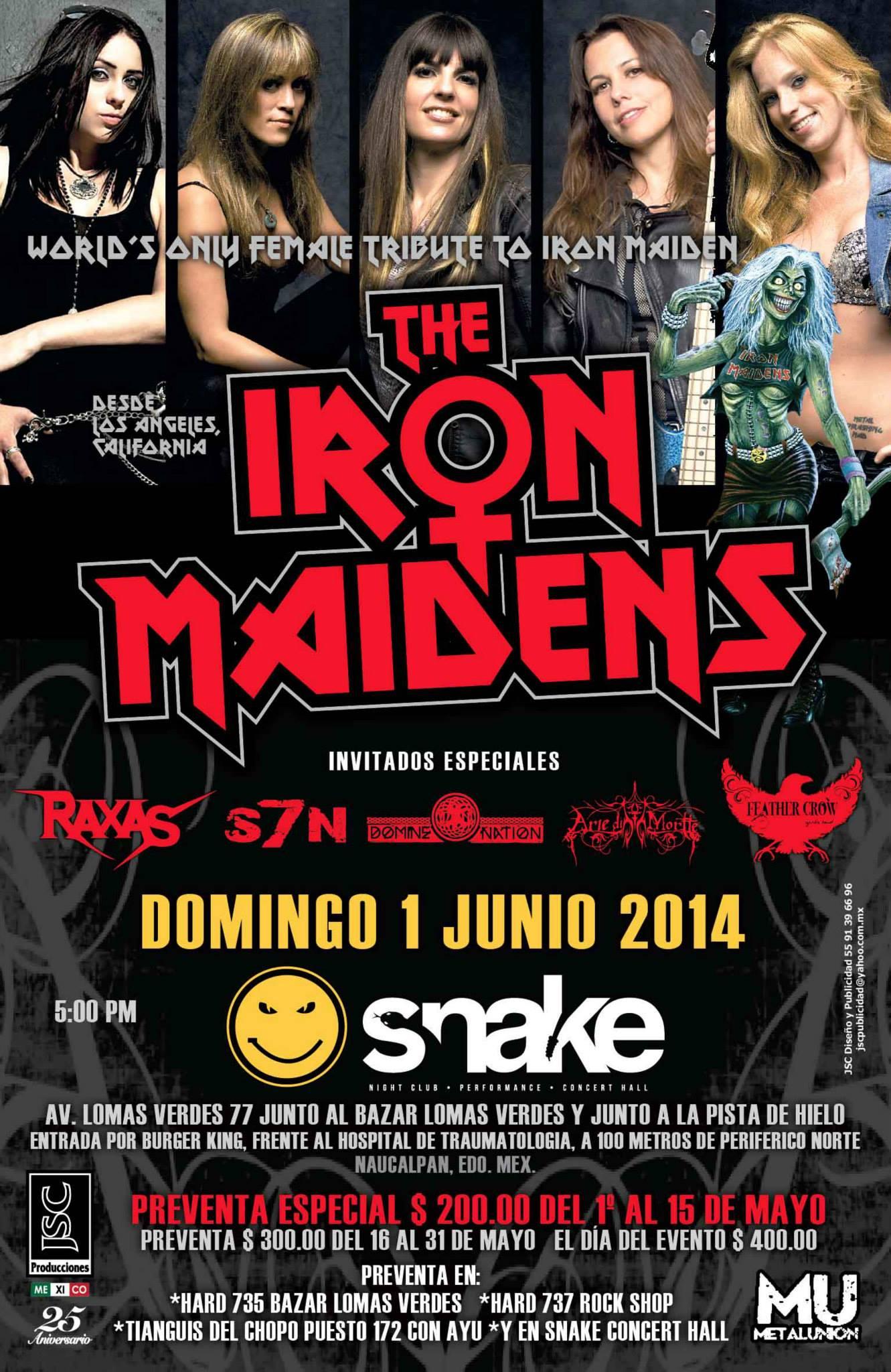 The Iron Maidens – 2da Etapa Tour Mexicano