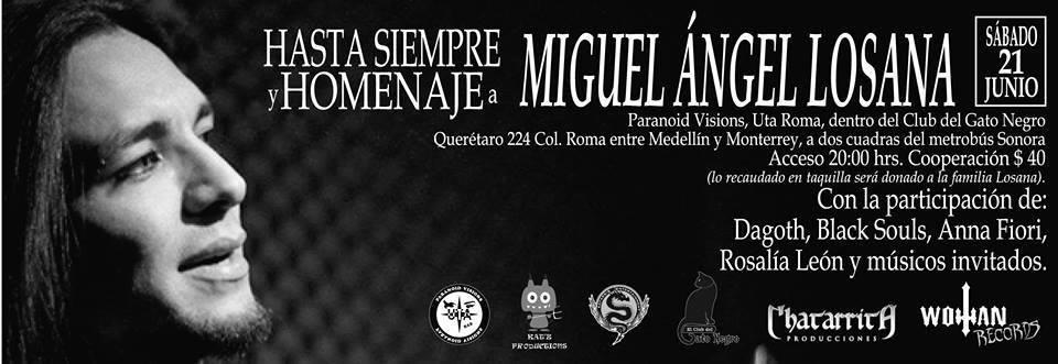 Homenaje a Miguel Ángel Losana