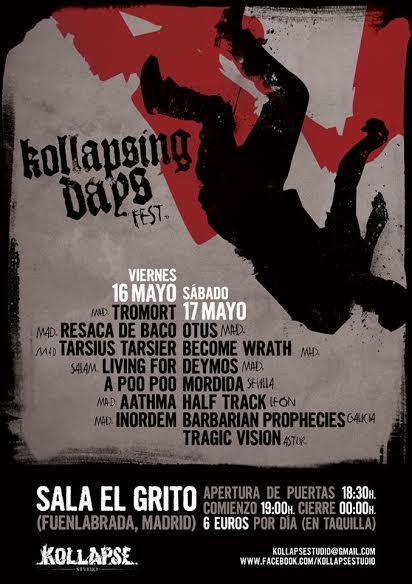 Barbarian Prophecies confirmados para Kollapsing Days Fest