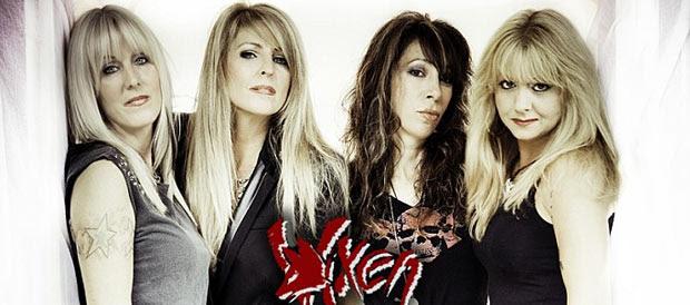 Las rockeras Vixen nos visitan en septiembre