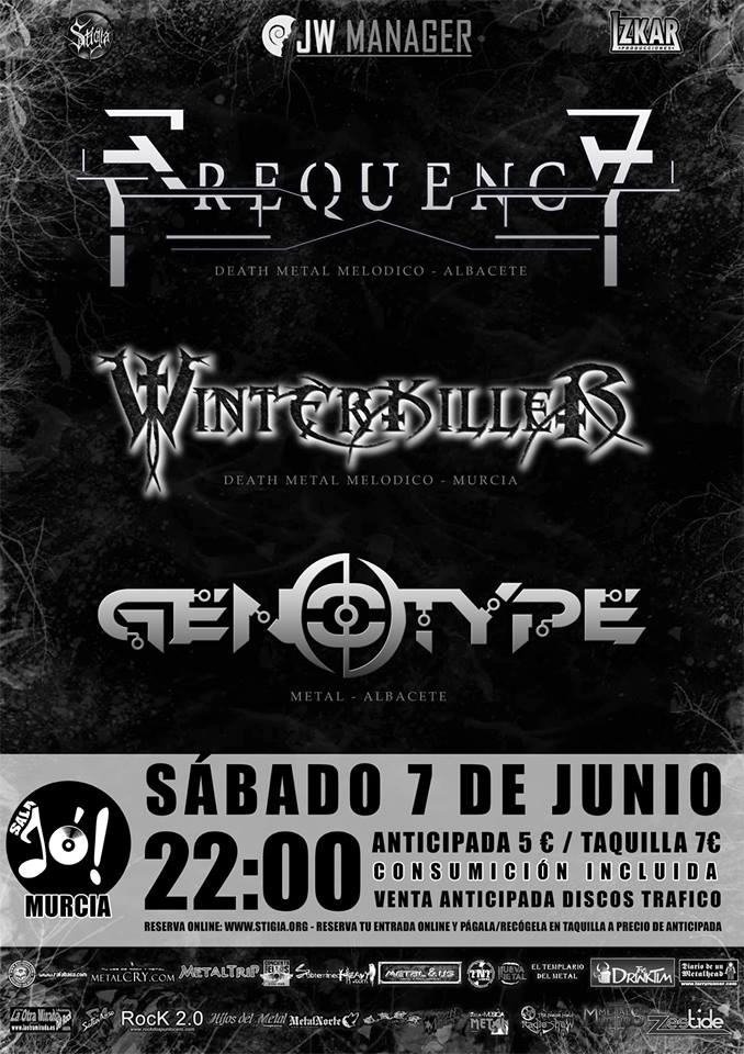 """FREQUENCY Presenta """"THE FLOW"""" en Murcia este Sábado 7 Junio"""