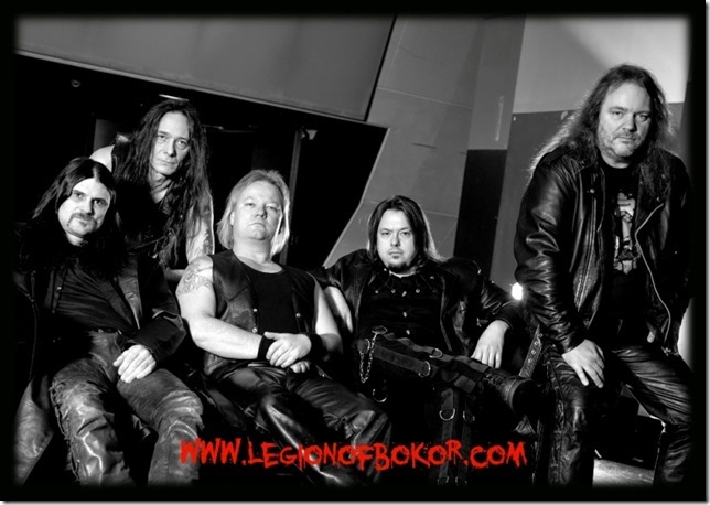 "LEGION OF BOKOR: Portada y tracklist de su álbum debut ""LEGION OF BOKOR"""