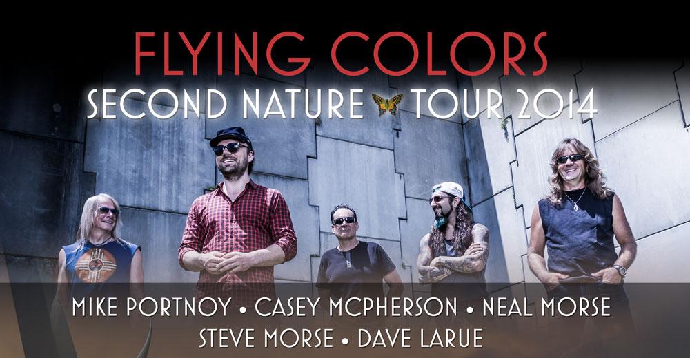 Flying Colors presentarán su álbum en un único concierto en Barcelona