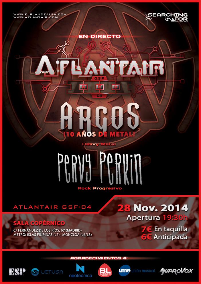 Concierto de Atlantair en Madrid