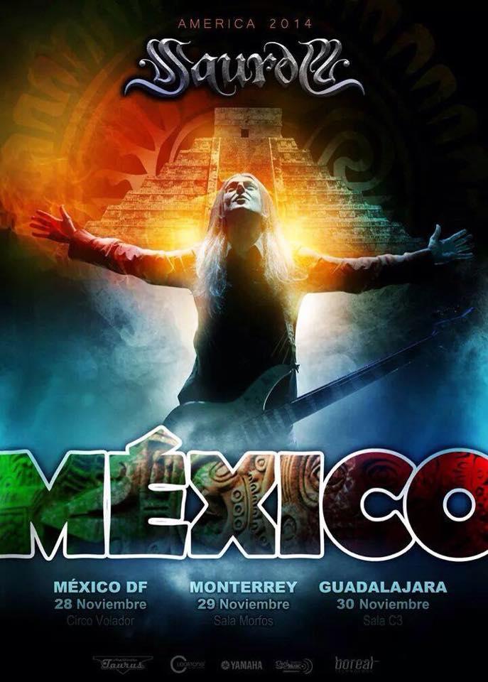 Saurom – México 2014 (DF – Monterrey – Guadalajara)