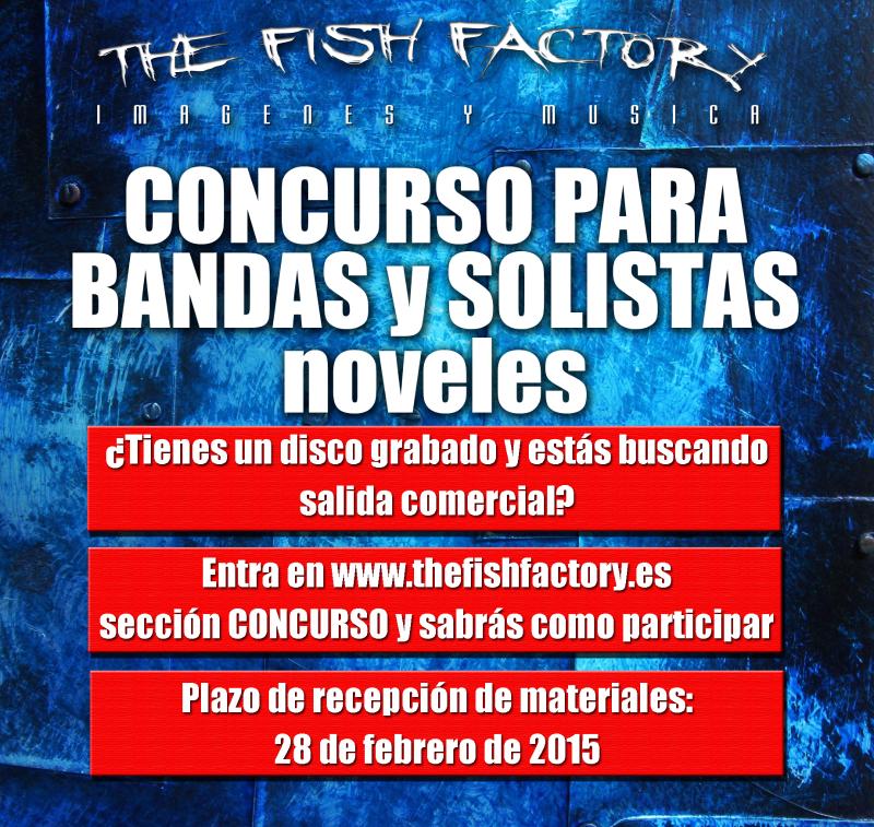 The Fish Factory convoca su primer concurso nacional de Bandas y Solistas Noveles
