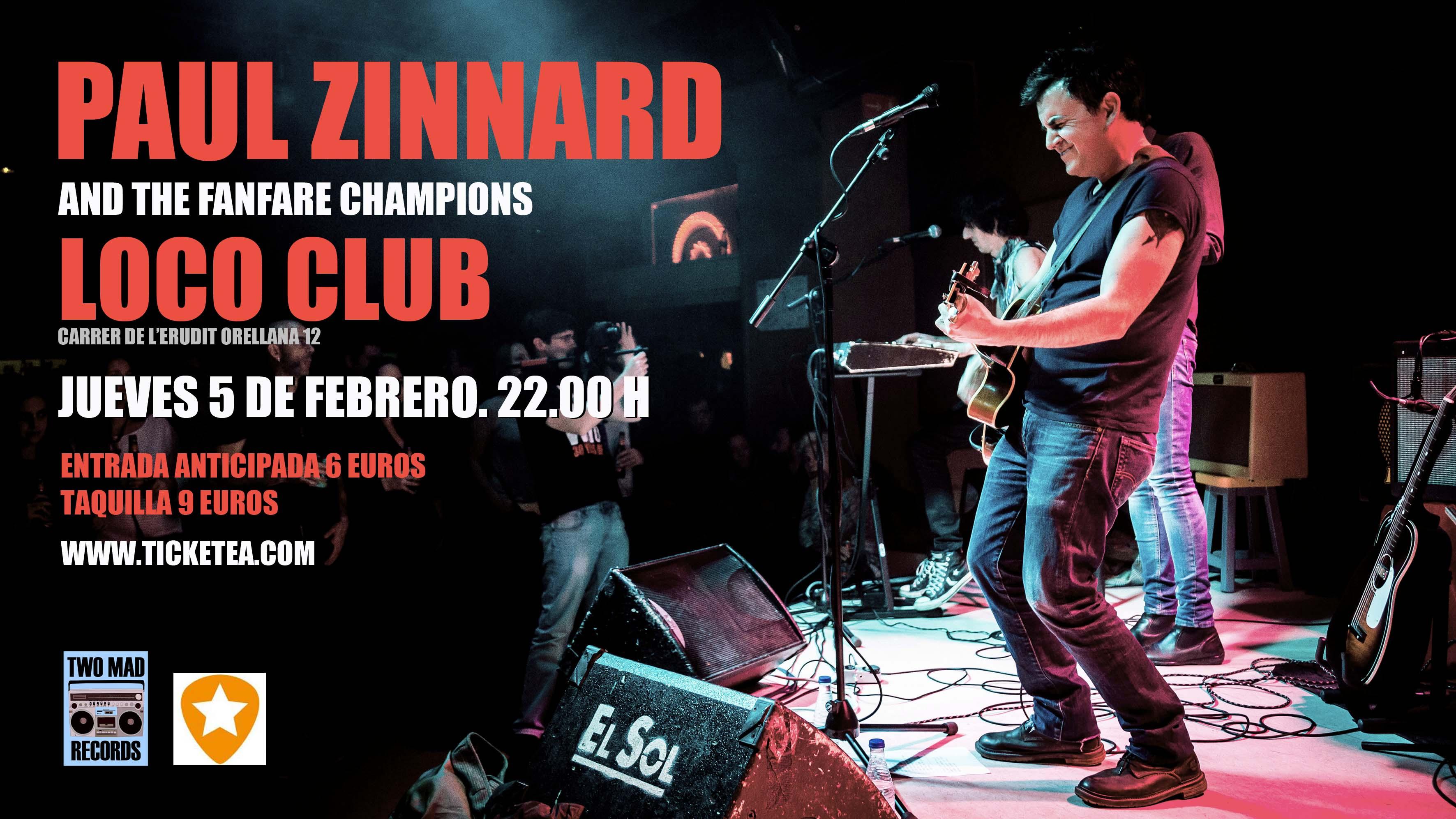Paul Zinnard regresa a Valencia para presentar  su arriesgado y nuevo disco Clean-cut and rude