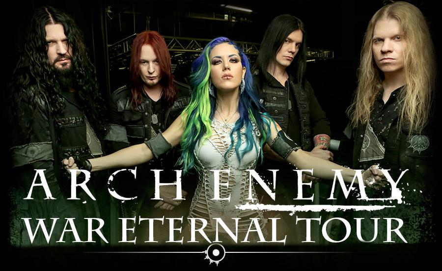 Arch Enemy visitan México