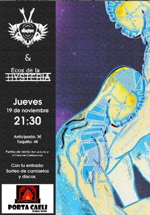 Concierto de DUNE y ECOS DE LA HYSTERIA en Valladolid