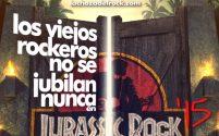 Los viejos rockeros no se jubilan nunca en Jurassic Rock