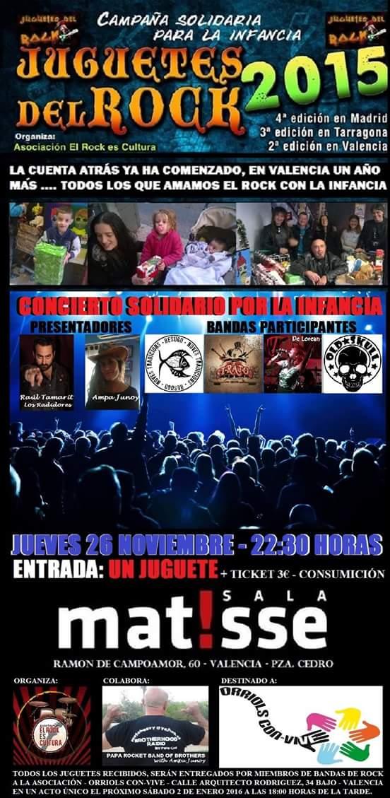 JUGUETES DEL ROCK 2ª Edición Valencia