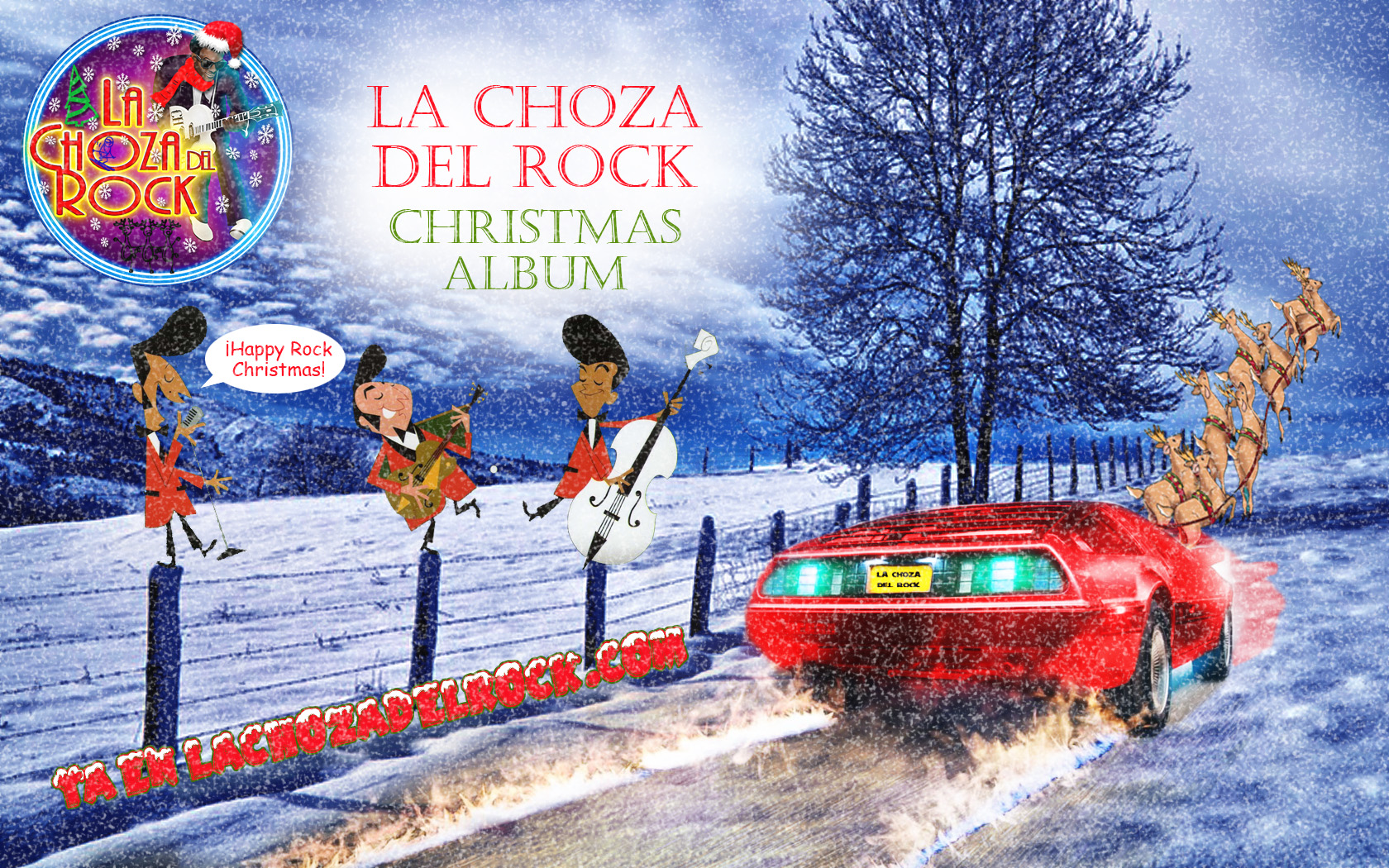 La Choza del Rock Christmas Album