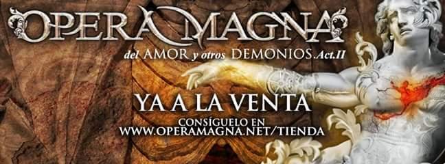 Los valencianos Opera Magna lanzan nuevo disco
