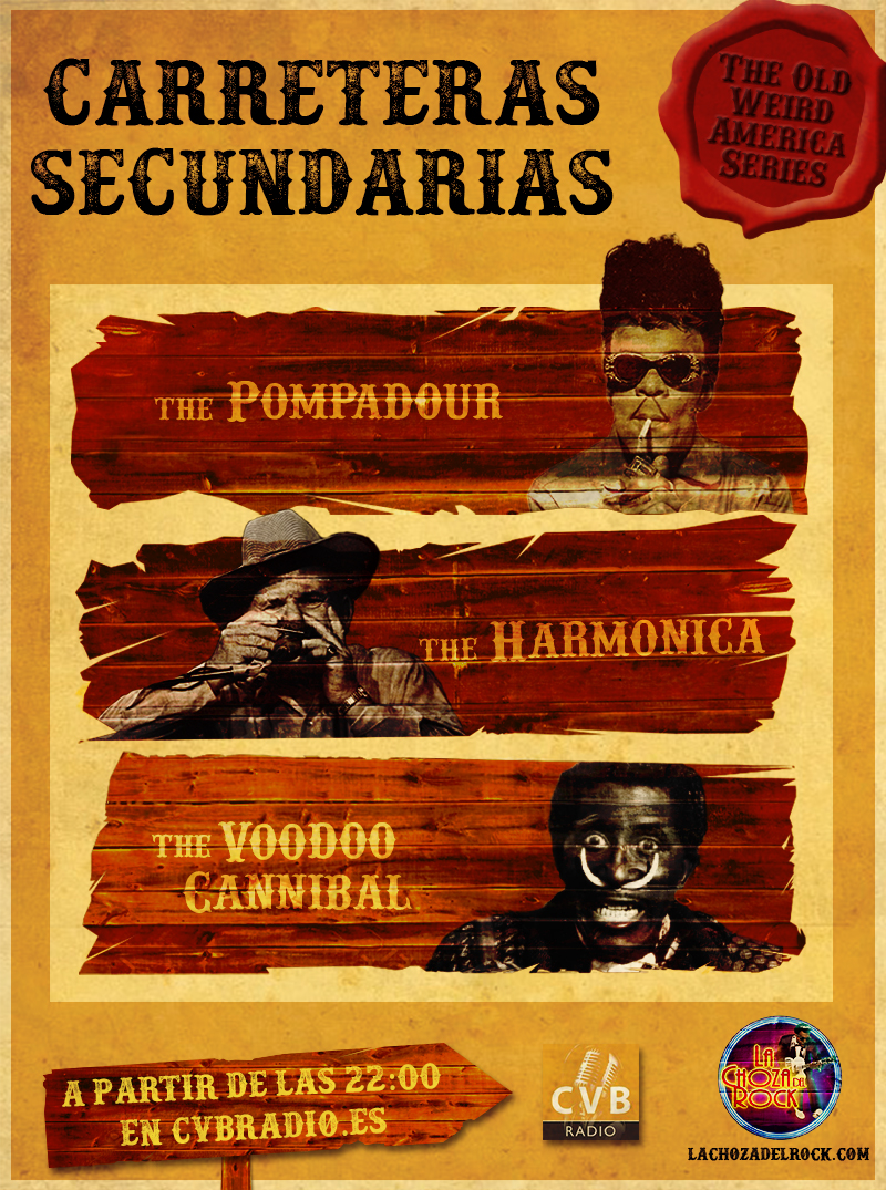 Carreteras Secundarias: The Old Weird America Series en la Choza del Rock