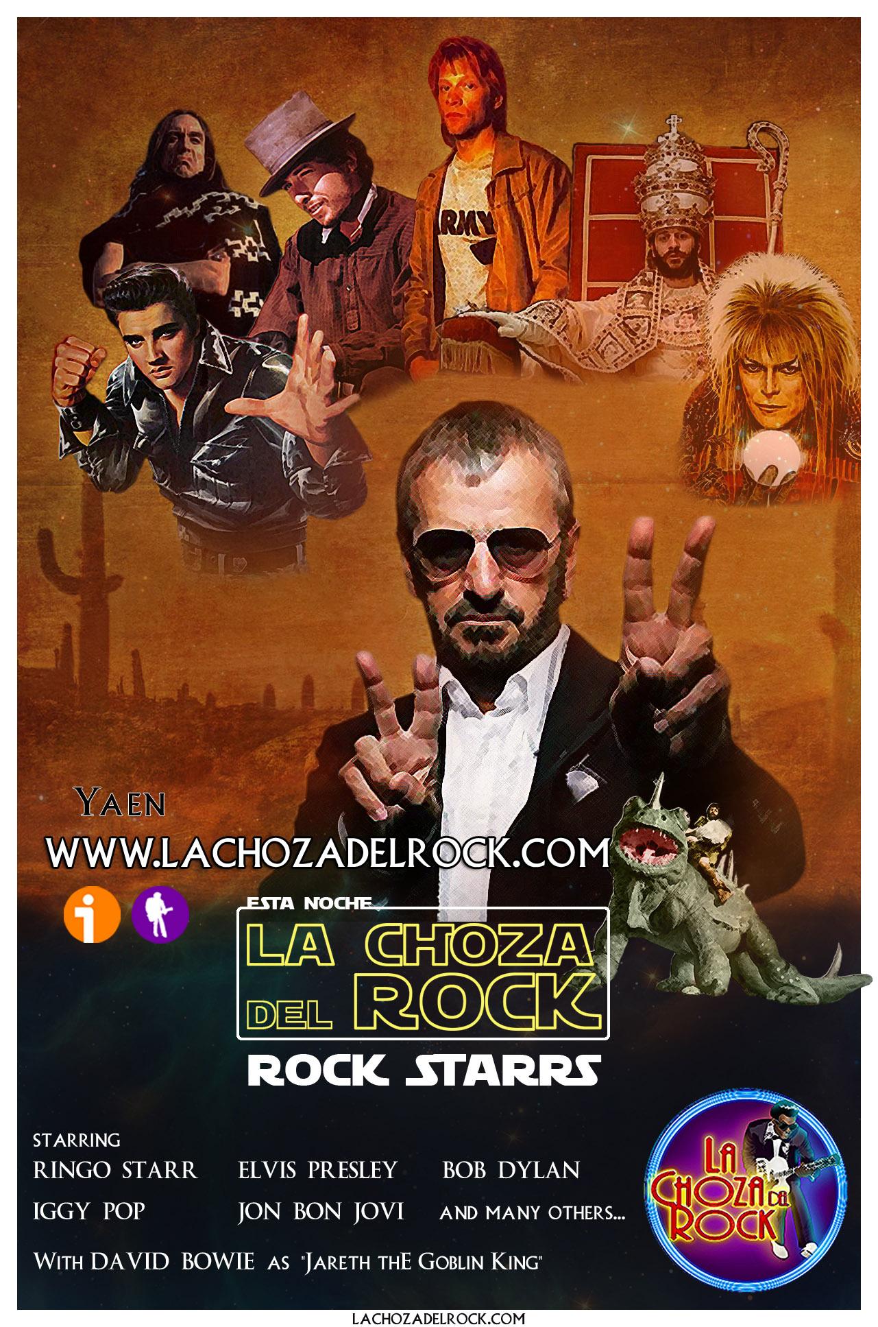 Rock Starrs de cine en la Choza del Rock