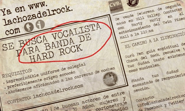 "¡Apúntate al ""Got Talent"" de la Choza del Rock!"