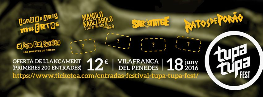Tupa Tupa Fest 2016
