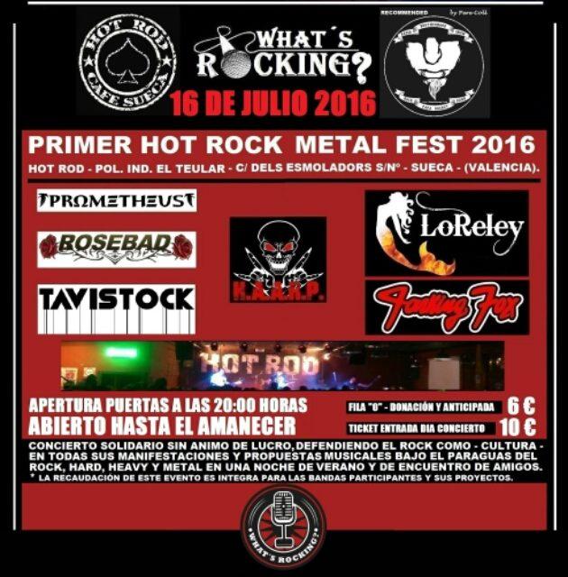 I HOT ROCK METAL FEST 2016